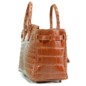 Alternate image 3 for Anna 30 - Orange Saltwater Crocodile By Lanae Exotic Handbags