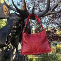 Alternate image 3 for Everyday-Red Nile Crocodile Hornback  By Lanae Exotic Handbags