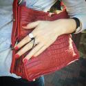 Alternate image 4 for Everyday-Red Nile Crocodile Hornback  By Lanae Exotic Handbags