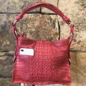 Alternate image 6 for Everyday-Red Nile Crocodile Hornback  By Lanae Exotic Handbags