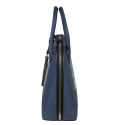 Alternate image 2 for Large Dome - Denim Blue Python By Lanae Exotic Handbags
