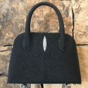 Alternate image 4 for Small Dome In Black Stingray By Lanae Exotic Handbags