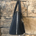 Alternate image 5 for Small Dome In Black Stingray By Lanae Exotic Handbags