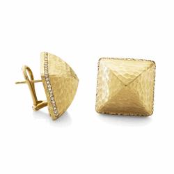 Closeup image for View Diamond 5 Pi Drop Earrings By Dana Bronfman