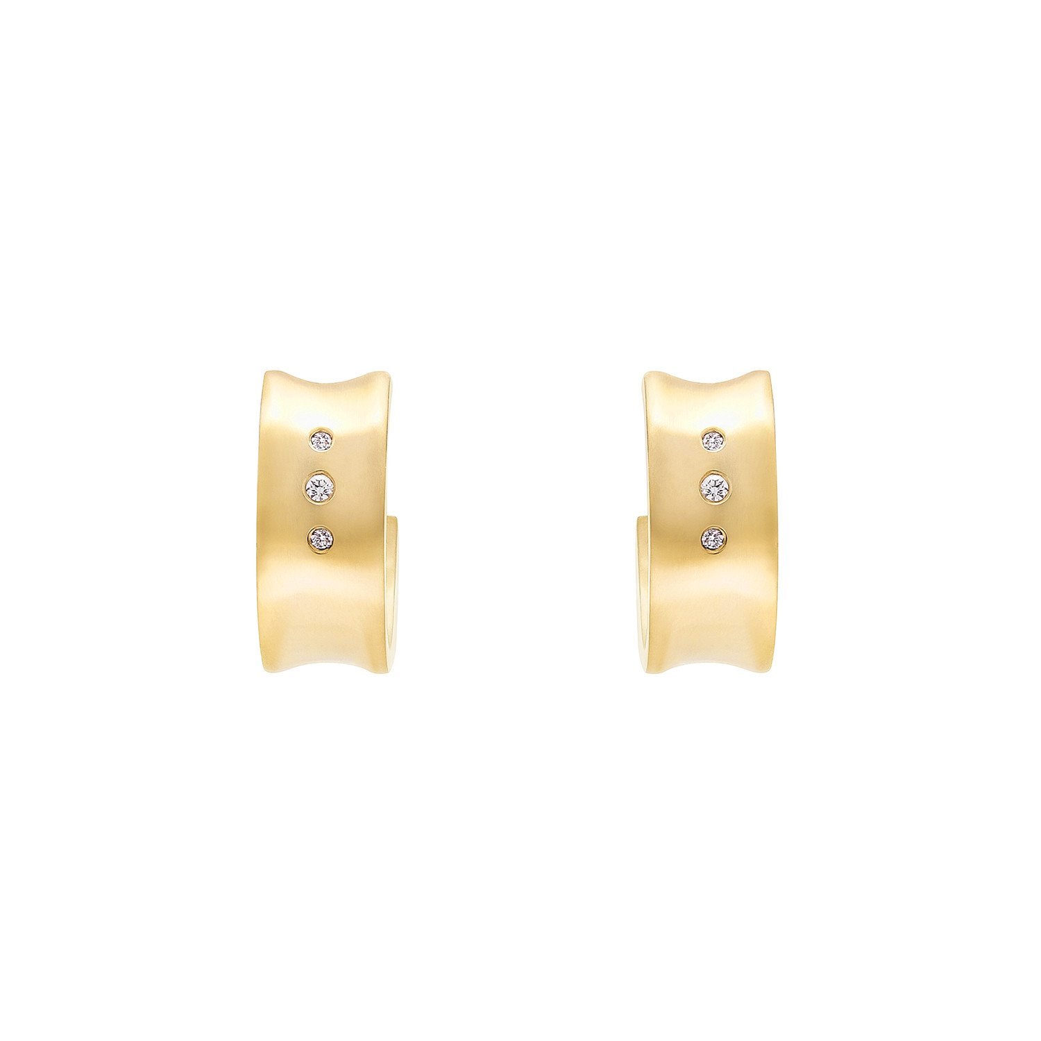Convex Hoop Earrings - alternate