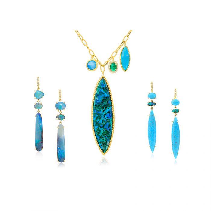 Boulder Opal Necklace - alternate
