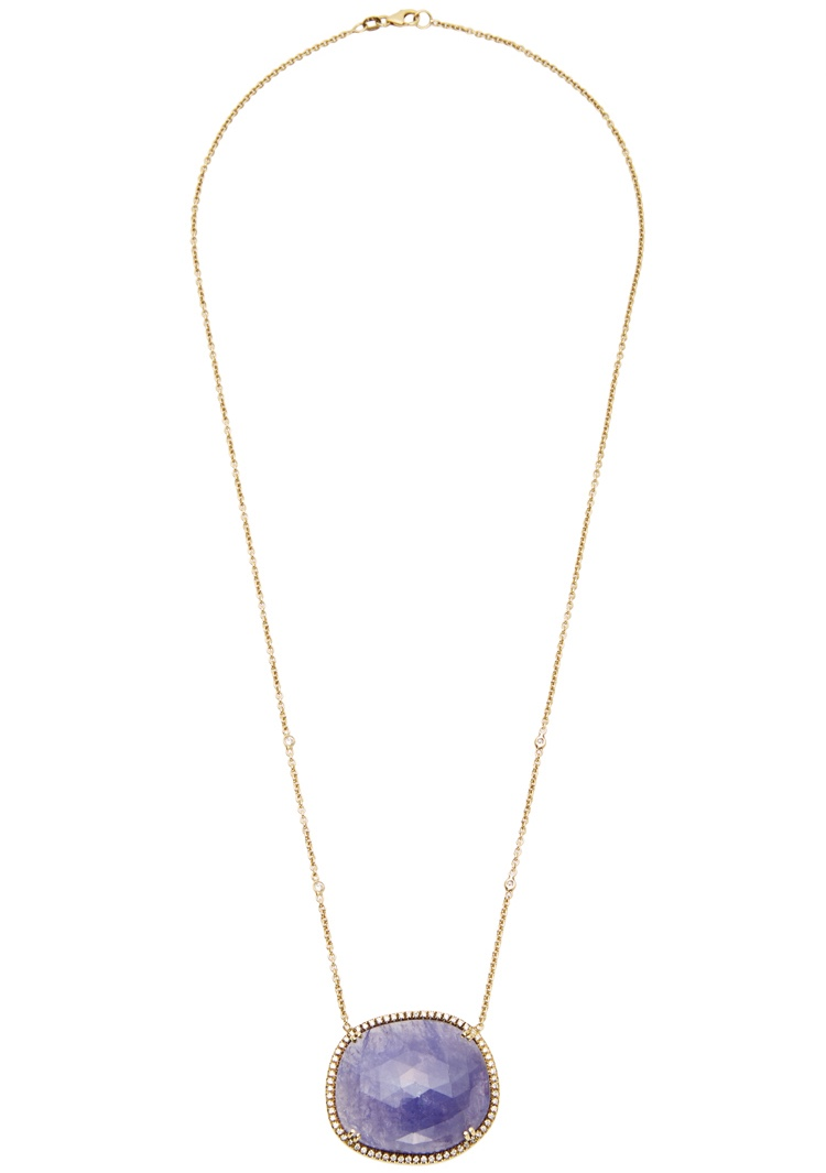 Abstract Tanzanite Layla Necklace - alternate