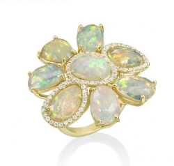 Closeup image for View Oceanic Opal Gypsy Ring By Shompole