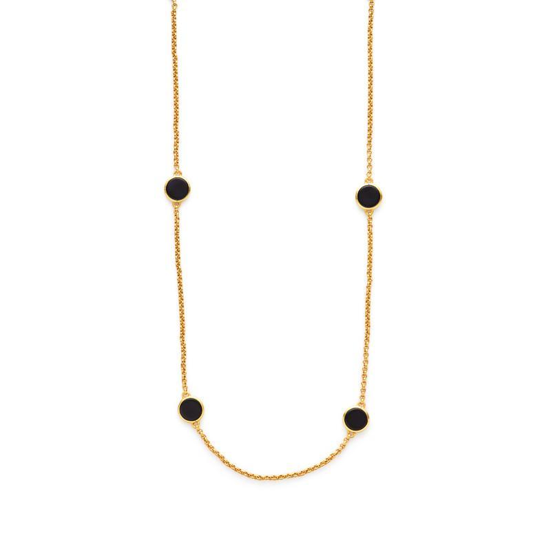 Valencia Gold Station Necklace - alternate