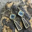 Alternate image 3 for  Gemma Aquamarine & Boulder Opal Earrings By Lauren K
