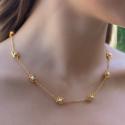 Alternate image 1 for Isabel Delicate Station Necklace By Julie Vos