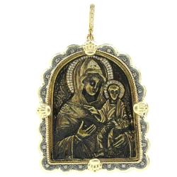 Closeup image for View Virgin & Child 19Th Century Pendant By Cynthia Ann Jewels