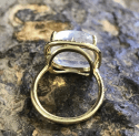 Alternate image 3 for Moonstone Cabochon Ring  By Lauren K