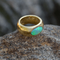Alternate image 3 for Oceanic Opal Gypsy Ring By Shompole