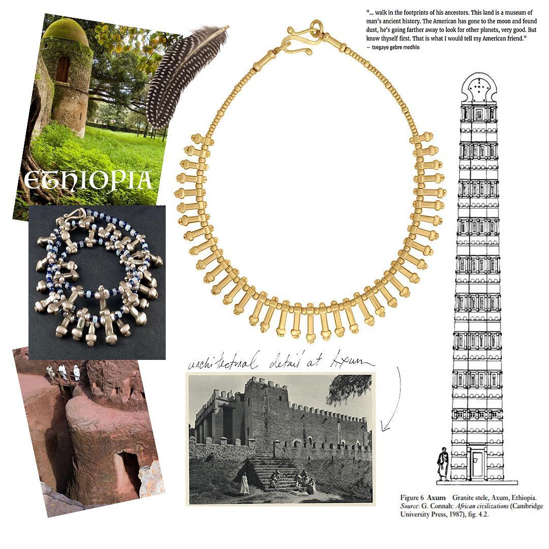 Ethiopian Heritage Necklace - alternate
