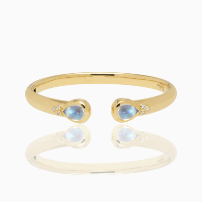 18K Bella Bangle - Temple St. Clair