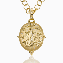 Closeup image for View 18K Matisse Amulet By Temple St. Clair