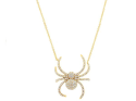 Alternate image 1 for Spider Necklace By Samira 13