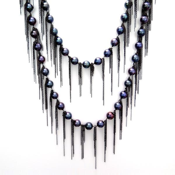 Fringe Necklace -  - alternate
