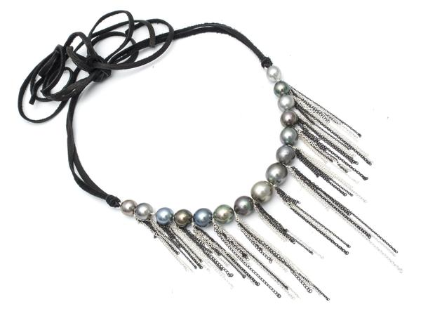 Fringe Choker - alternate
