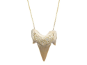 Alternate image 1 for Shark Tooth Necklace By Samira 13