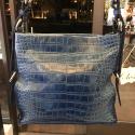 Alternate image 3 for Amanda Blue Alligator By Lanae Exotic Handbags