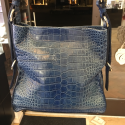 Alternate image 4 for Amanda Blue Alligator By Lanae Exotic Handbags