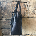 Alternate image 1 for Kayla Small Black Lizard By Lanae Exotic Handbags