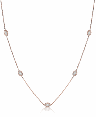 18k Rose Gold, Diamond weight 0.61 cts. Comes in every color of Gold!