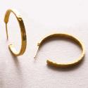 Alternate image 2 for Crescent Hoop - Large By Julie Vos