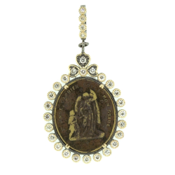 Closeup image for View Ancient Silver Pendant By Cynthia Ann Jewels