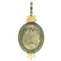 Alternate image 1 for Guardian Angel Medal With Stars Ecp2651 By Cynthia Ann Jewels