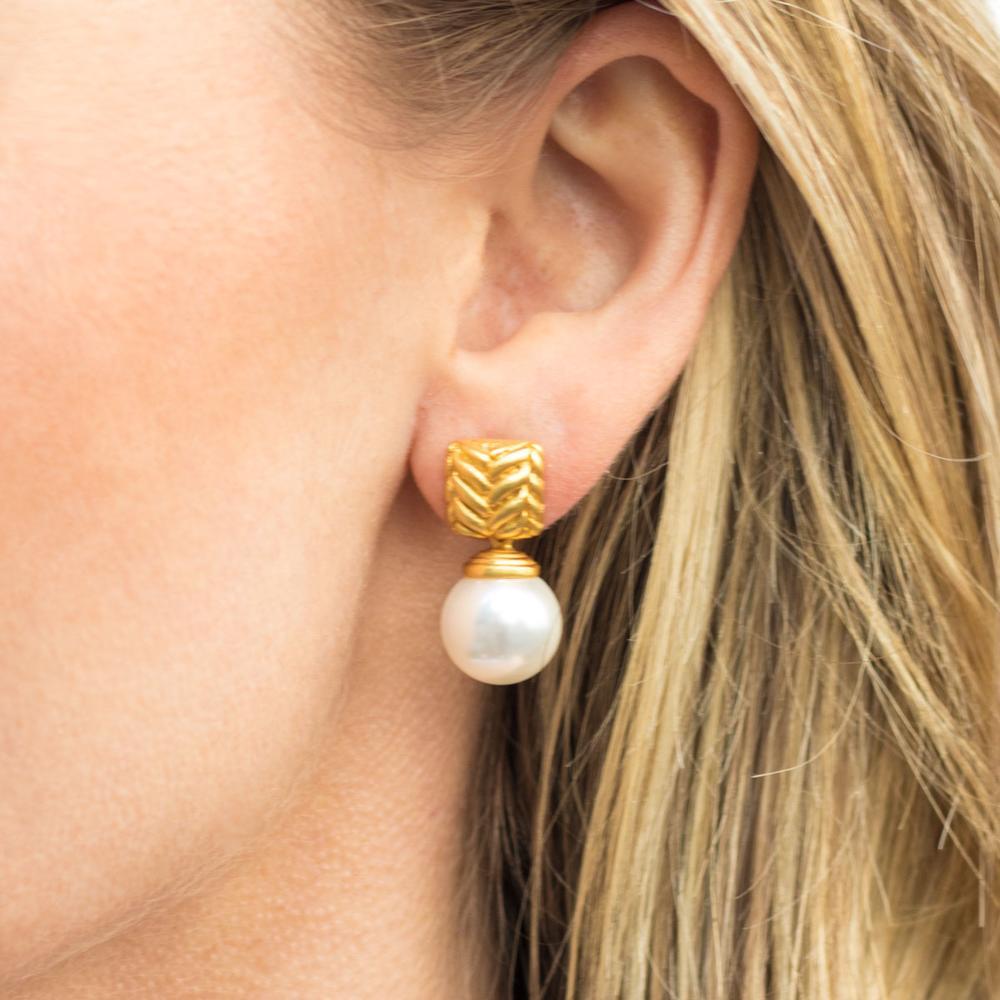 Monterey Pearl Earring - alternate