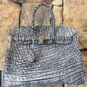Alternate image 2 for Grey Waterbuffalo  By Leather Consignment