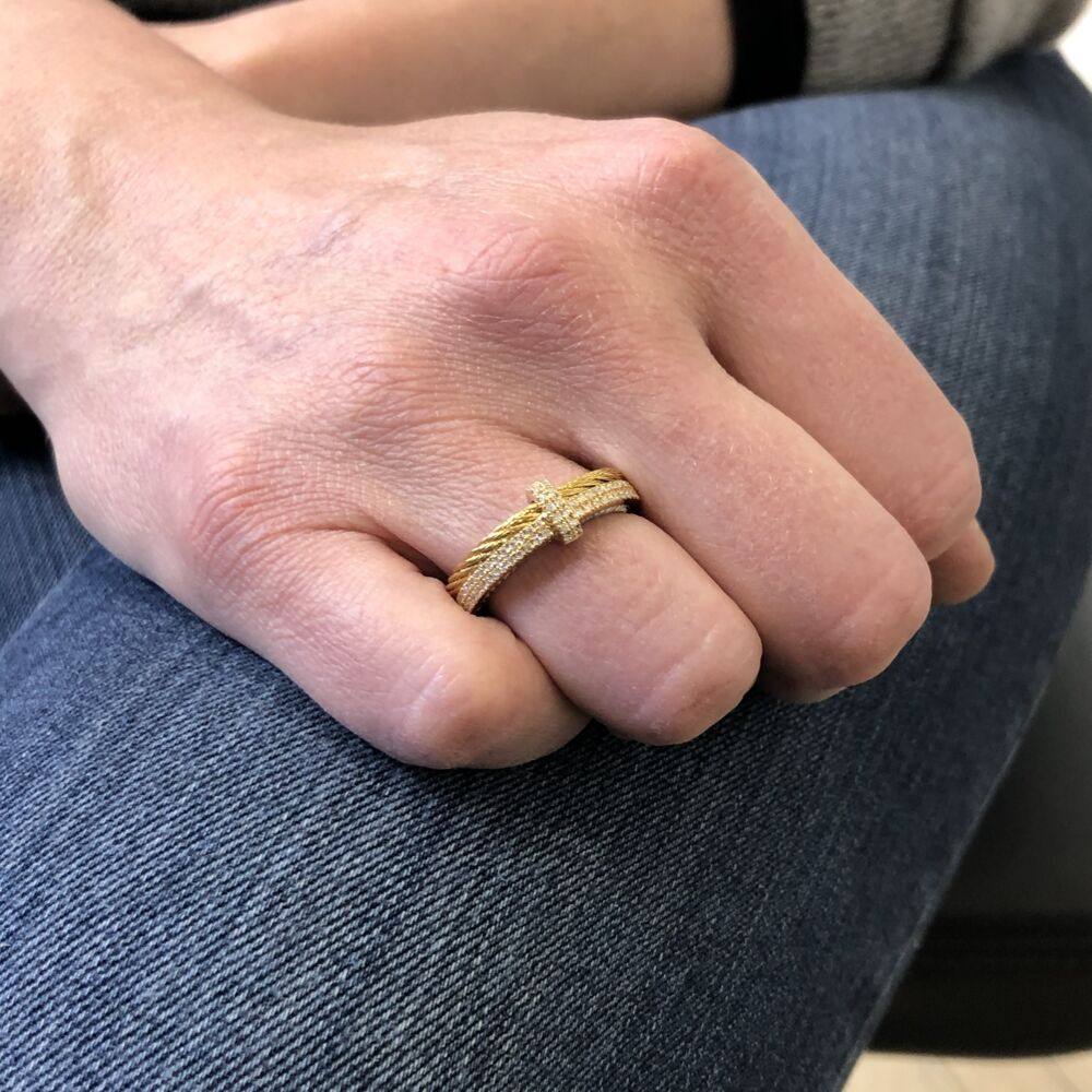 Yellow & Yellow Gold Ring
