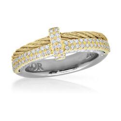 Closeup photo of Yellow & Yellow Gold Ring