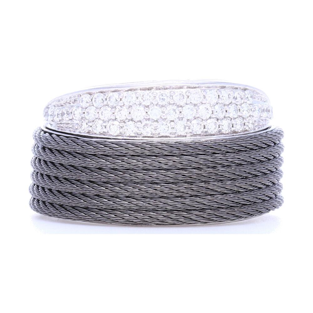 Grey Peekaboo Ring