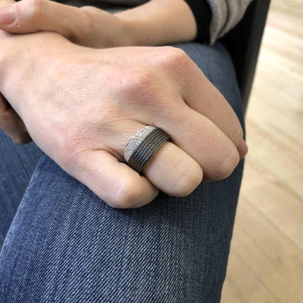 Image 2 for Grey Peekaboo Ring