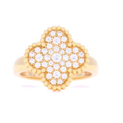 Closeup image for View Princess White Topaz Ring By Cynthia Ann Jewels