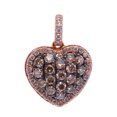 18K Yellow Gold, 8.60 ct of Colored Gem Stones, .07 ct of diamonds, Length: 1.75 inches, All Jewelry is Made in the USA