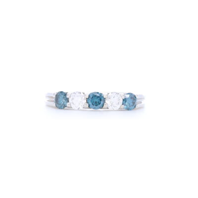18K Yellow Gold .16 ct of Diamonds 44.76 ct of Aquamarine Length: Approximately 1.75 inches All Jewelry is Made in the USA