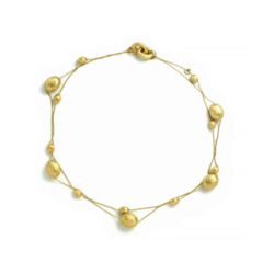 Closeup photo of Dancing In The Rain Multi Bead Necklace