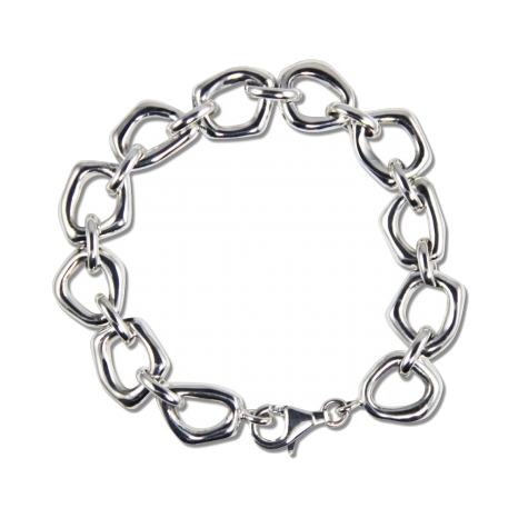 Closeup photo of Small Touchstone Links Bracelet