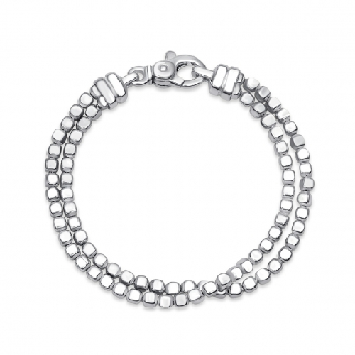 Closeup photo of Double Ice Cube Bracelet