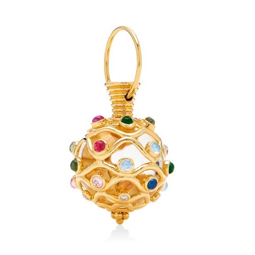 18K Theodora Amulet