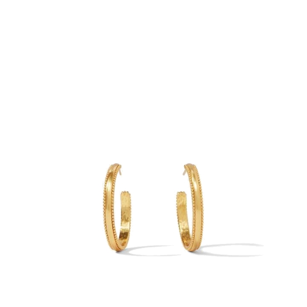 Closeup photo of Chloe Hoop Earrings
