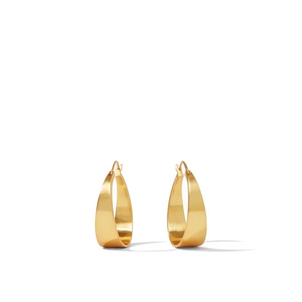 Closeup photo of Poppy Hoop Earrings size Medium