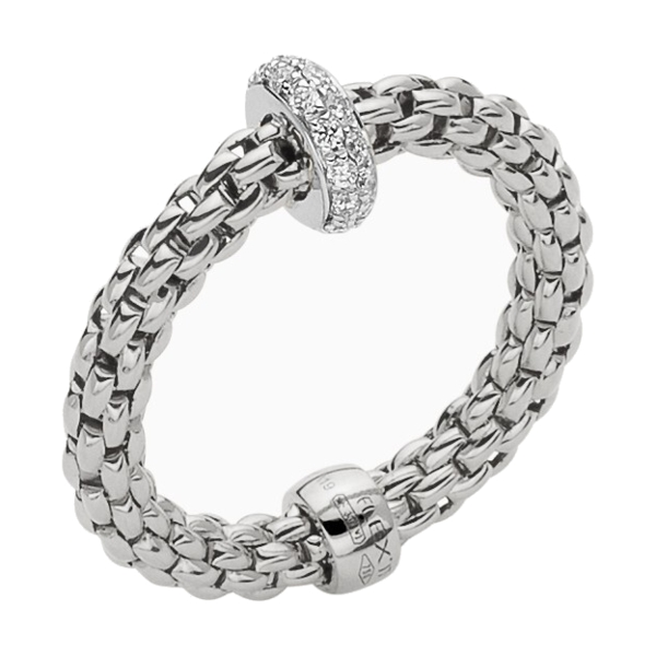 Closeup photo of Flex-it Ring With Diamonds