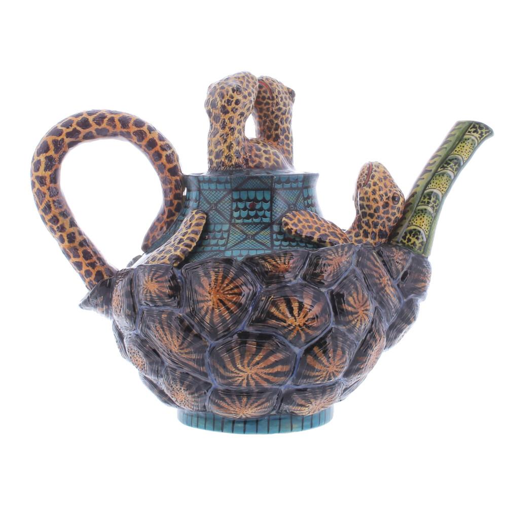Tortoise Teapot