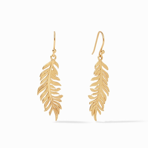 Closeup photo of Fern Earring